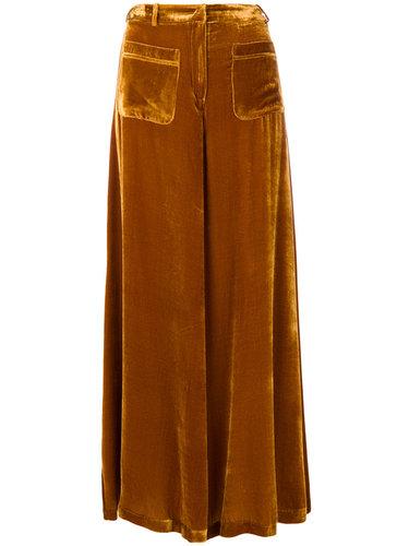 расклешенные брюки Vivetta