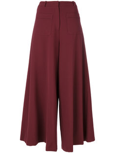 широкие брюки клеш Vivetta