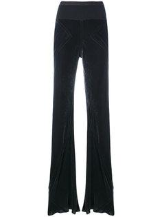 брюки с эластичным ребристым поясом Rick Owens