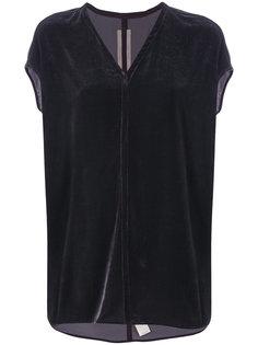 блузка с V-образным вырезом Rick Owens