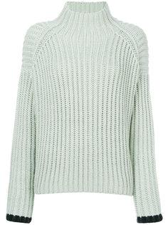 вязаный свитер с ребристой фактурой Victoria Victoria Beckham
