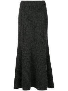 трикотажная юбка длины миди Stella McCartney