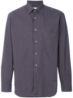 классическая рубашка с вышивкой Brioni