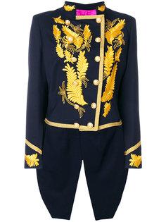 """жакет с золотистой вышивкой в стиле """"милитари"""" La Condesa"""