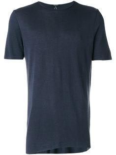 футболка свободного кроя с необработанными краями Unconditional