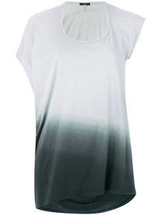 асимметричная футболка с градуированным эффектом Unconditional