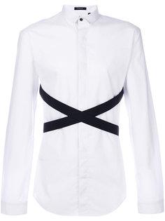 рубашка с контрастными полосками Unconditional