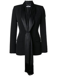 приталенный блейзер с атласными завязками Givenchy