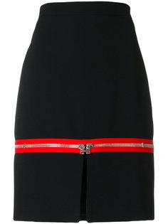 юбка с контрастной вставкой Givenchy