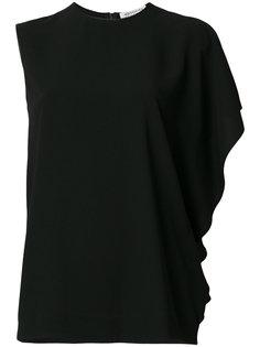 блузка с асимметричными рукавами Maison Margiela