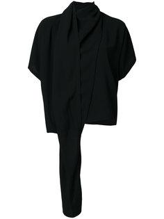 драпированная блузка Maison Margiela
