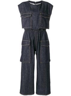 """джинсовый комбинезон с карманами в стиле """"карго"""" Mm6 Maison Margiela"""