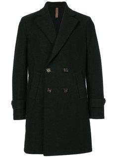 классическое двубортное пальто Eleventy