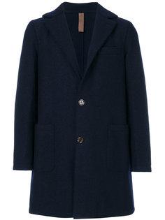 классическое однобортное пальто  Eleventy