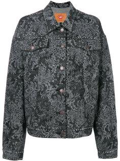 джинсовая куртка с кристаллами Marc Jacobs