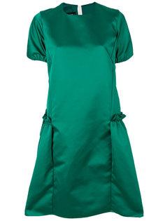 платье-миди с присборенными деталями по бокам Rochas