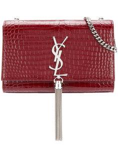 тисненая сумка Kate среднего размера Saint Laurent