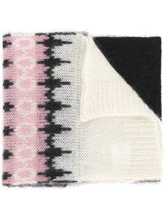 шарф с рисунком Moncler