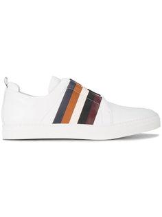 кроссовки с разноцветными полосками Slider Pierre Hardy
