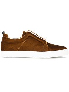 бархатные кроссовки Slider Pierre Hardy