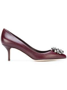 туфли с декорацией из камней Dolce & Gabbana
