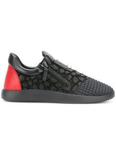 кроссовки с молниями сбоку Giuseppe Zanotti Design