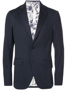 классический пиджак с принтом Etro