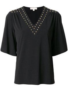 футболка шифт с заклепками  Michael Michael Kors