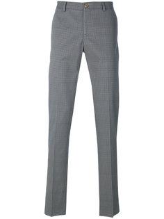 брюки с мелким узором Etro