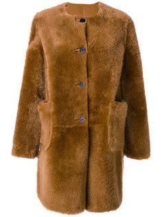 пальто из овчины Marni