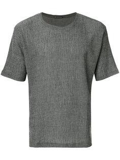 футболка с фактурным узором Issey Miyake Men