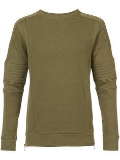 байкерский свитер Balmain