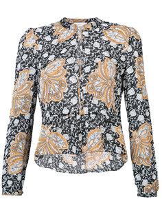 рубашка с цветочным узором A.L.C.