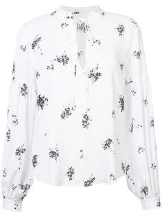 рубашка с принтом A.L.C.