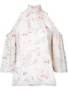 блузка с открытыми плечами Rachel Zoe