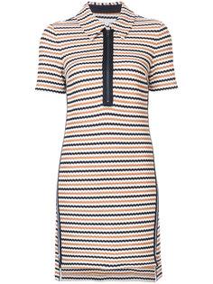 полосатое платье Veronica Beard