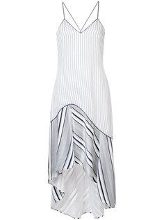 асимметричное платье в полоску Jonathan Simkhai