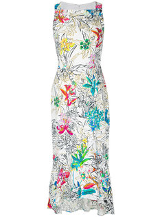 платье без рукавов с цветочным принтом  Peter Pilotto