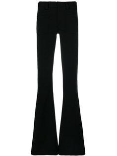 расклешенные брюки с завышенной талией Maison Margiela