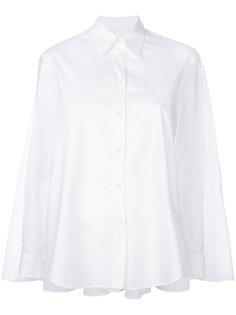 рубашка свободного кроя с закругленным подолом Mm6 Maison Margiela