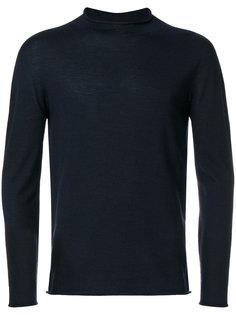 свитер с воротником с заворотом Giorgio Armani