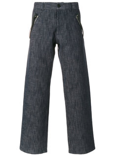 брюки с застежками на молнии Maison Margiela