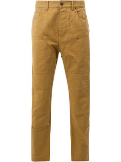 панельные джинсовые брюки Lanvin