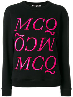 свитер Felpa с логотипом  McQ Alexander McQueen