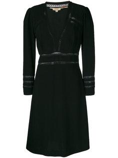 платье с V-образным вырезом Burberry