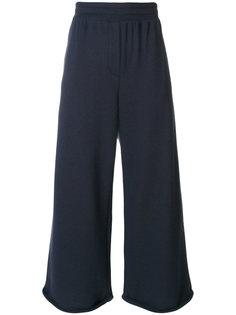 широкие укороченные брюки T By Alexander Wang