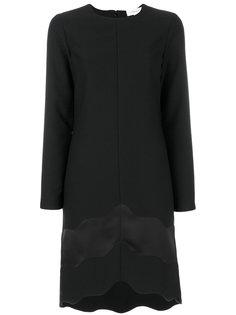 платье с атласной окантовкой Carven