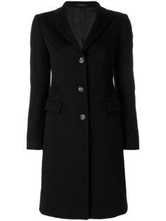 классическое пальто на пуговицах Tagliatore