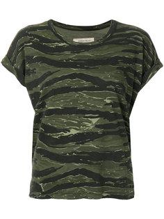 футболка с камуфляжным принтом  Current/Elliott