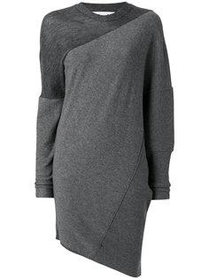 асимметричное платье свободного кроя Stella McCartney